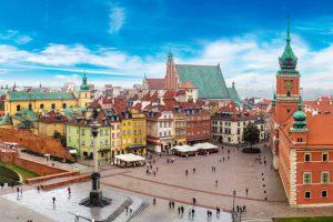 Varsovia centrul orasului