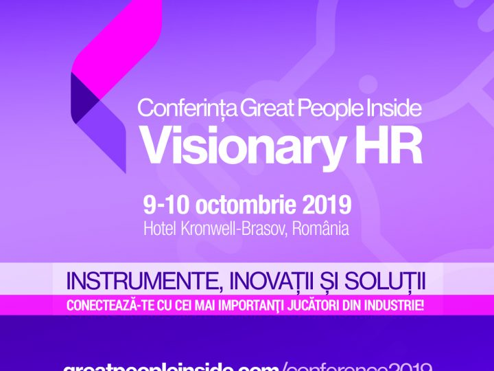 Conferința Great People Inside Visionary HR