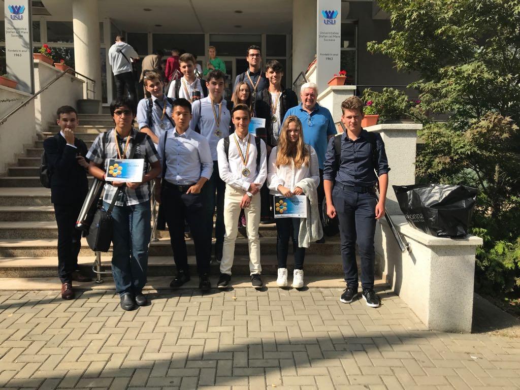 7 echipe ale Centrului Alexandru Proca s-au calificat sa participe la 3 competitii internationale de proiecte de cercetare